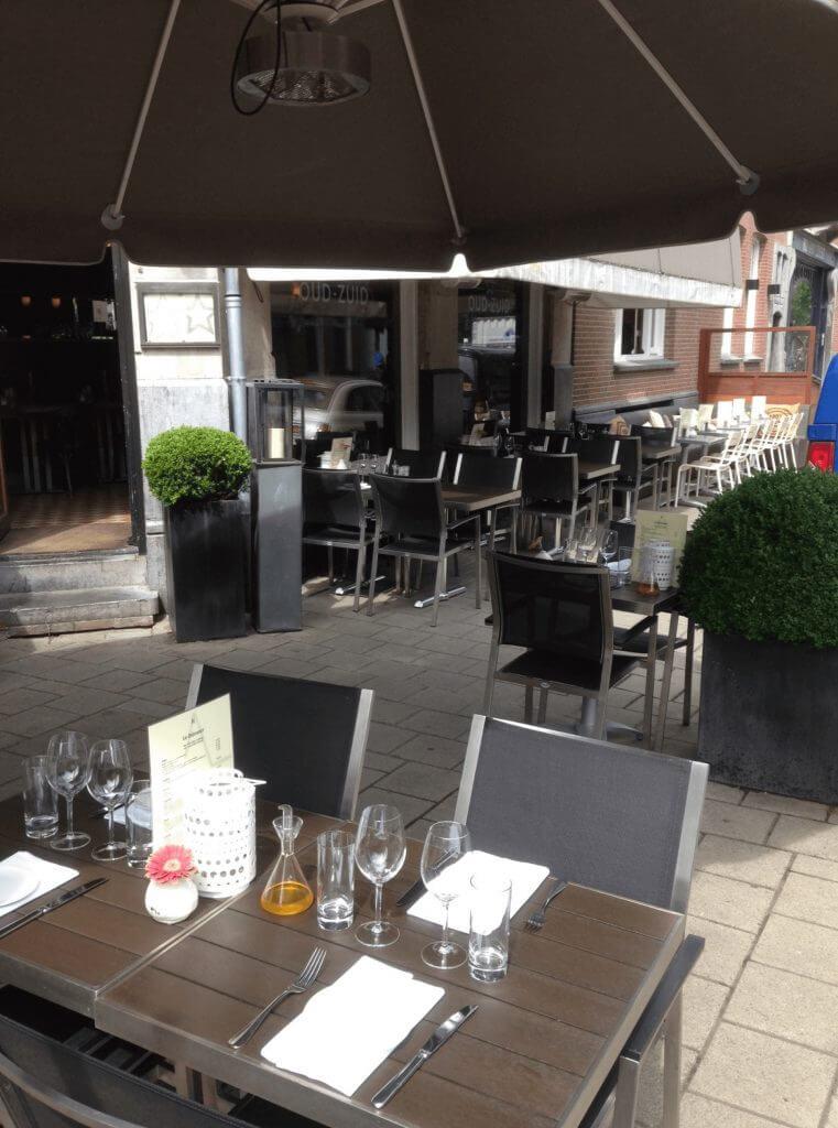 Restaurant Oud Zuid terras