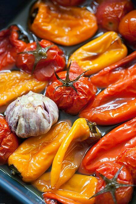 Mediterrane oven groenten